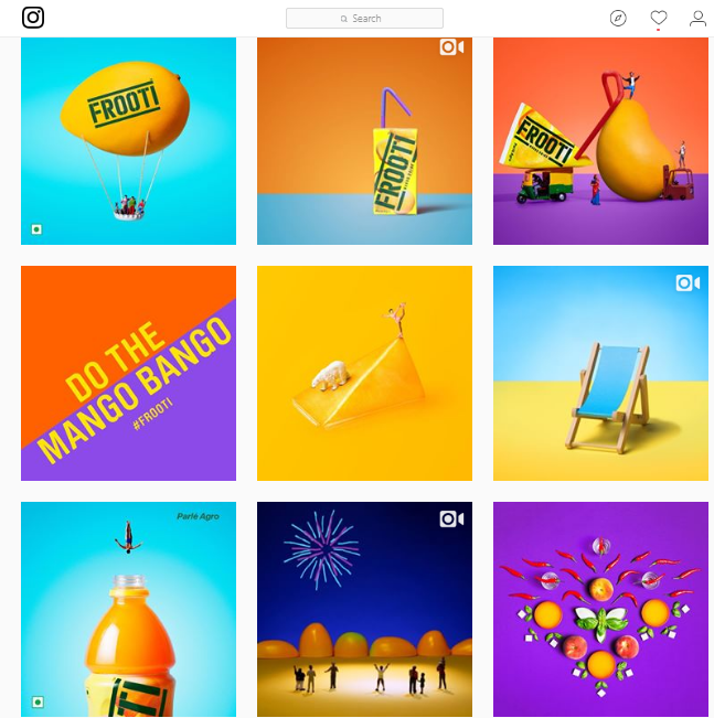 Frooti on Instagram