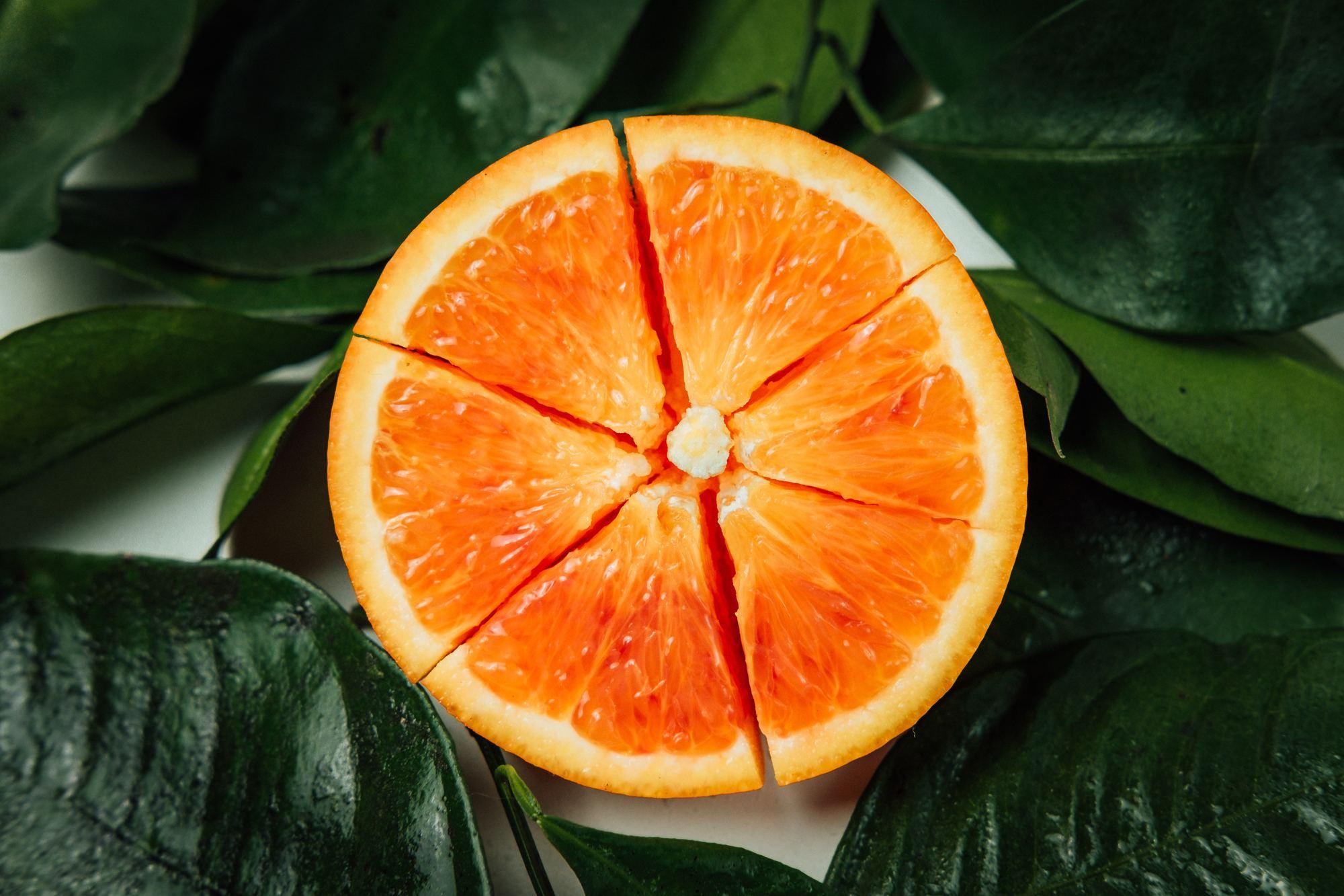 Orange color branding