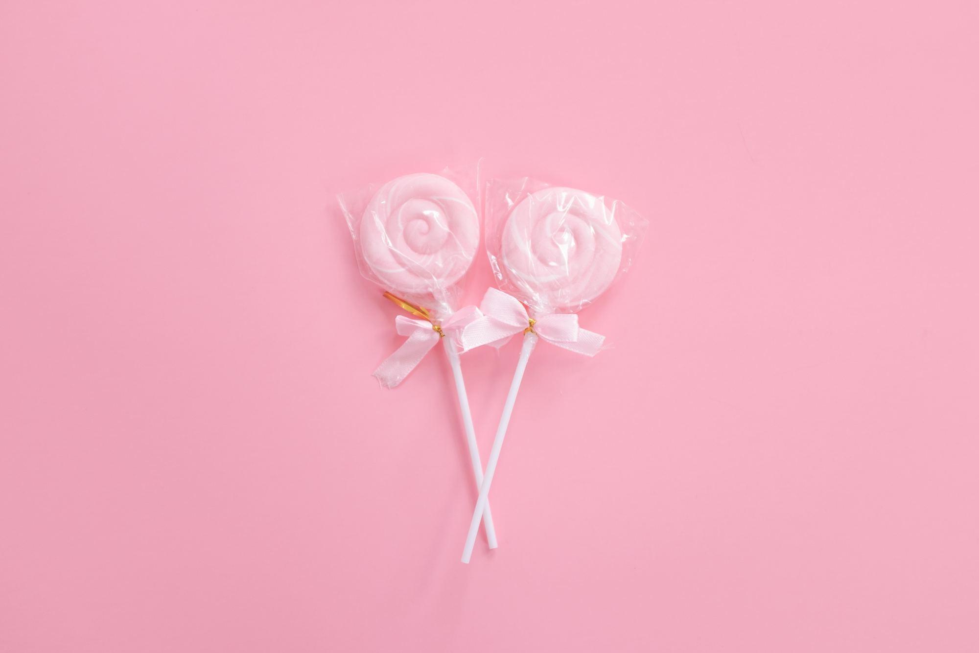 Pink color branding