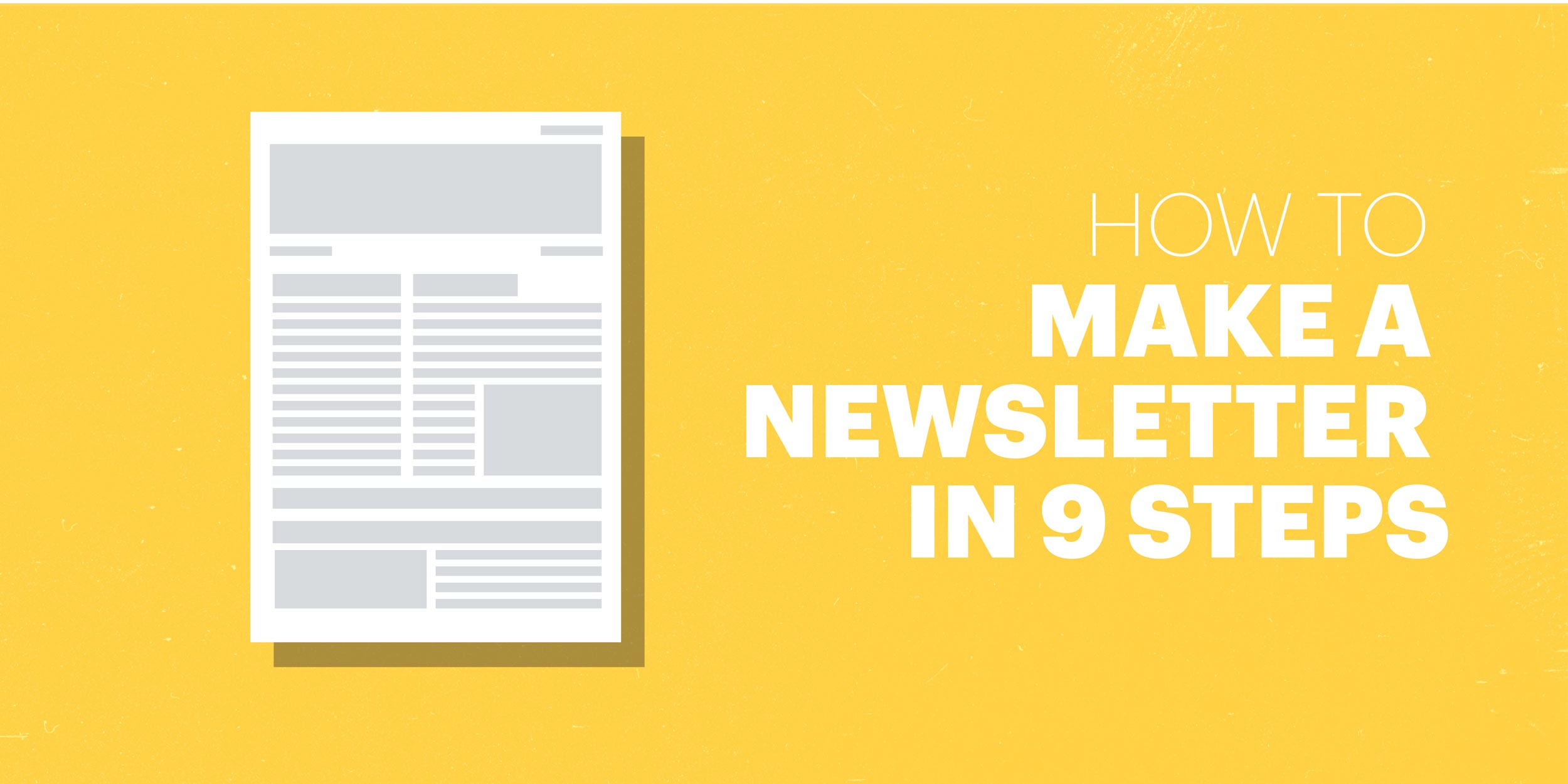 How to Make a Newsletter in 9 Steps | Lucidpress