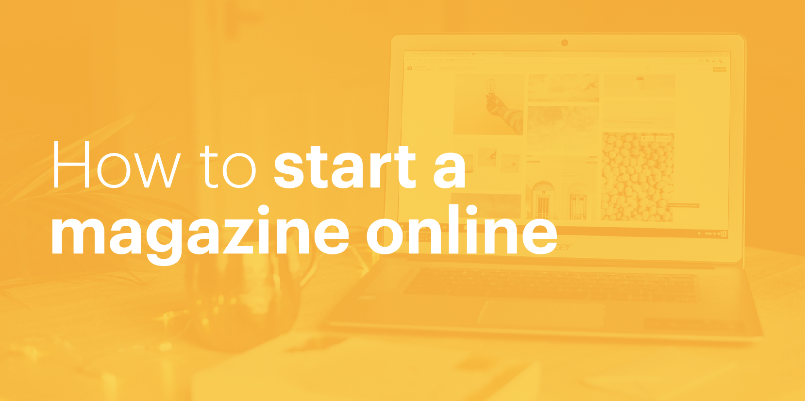 How To Start A Magazine Online In  Steps  Lucidpress