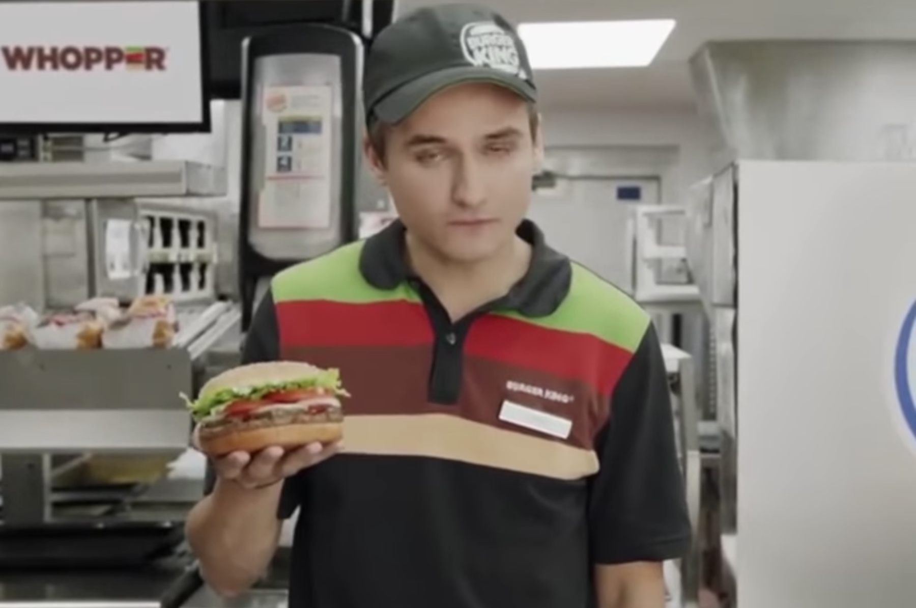 Burger King Whopper voice ad