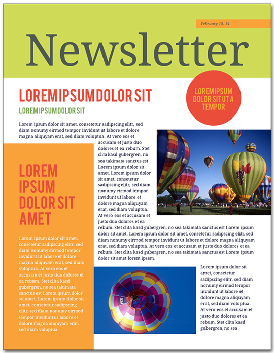 How To Make A Newsletter In Steps Lucidpress - How to create a newsletter template