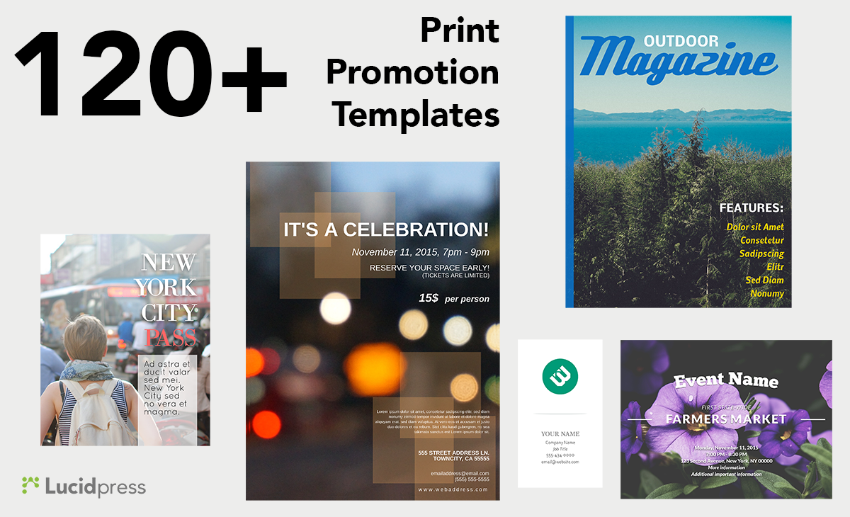 a step guide to success on small business saturday blog print templates