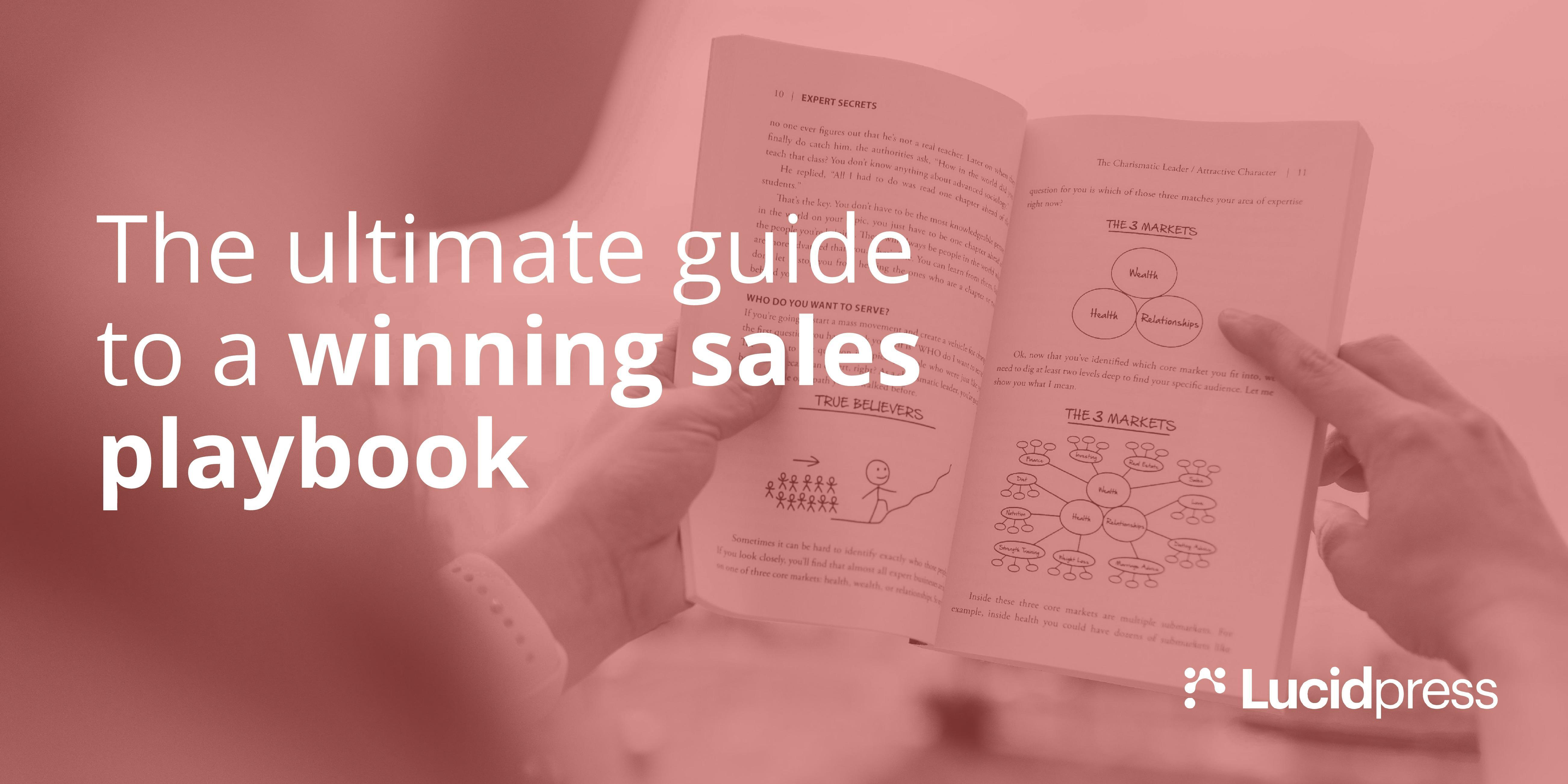 The Ultimate Guide to a Winning Sales Playbook | Lucidpress