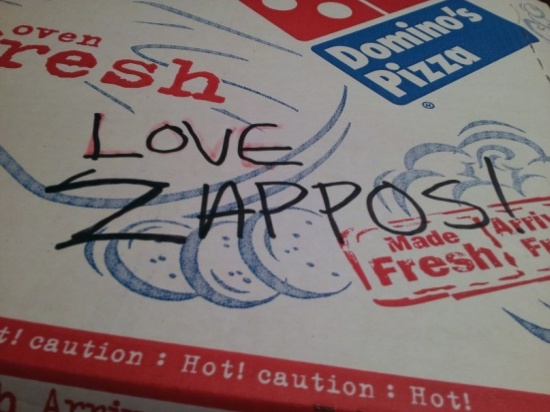 Zappos - Emotional branding example