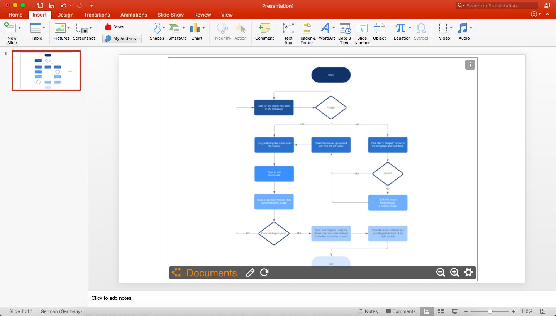 Flussdiagramm in PowerPoint   Lucidchart