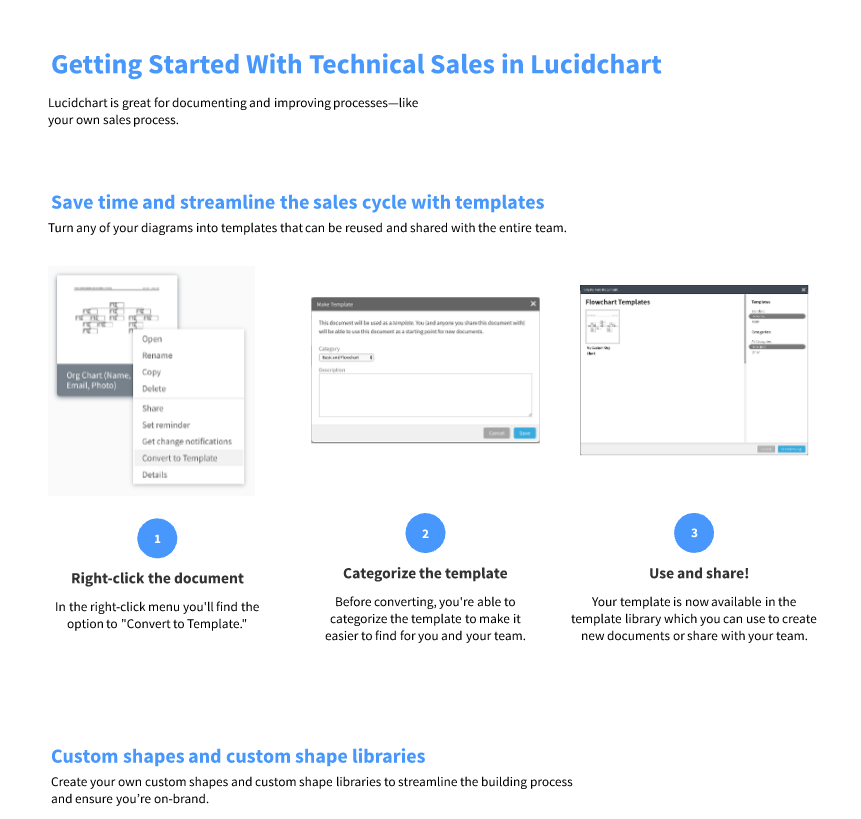Getting started for sales engineers