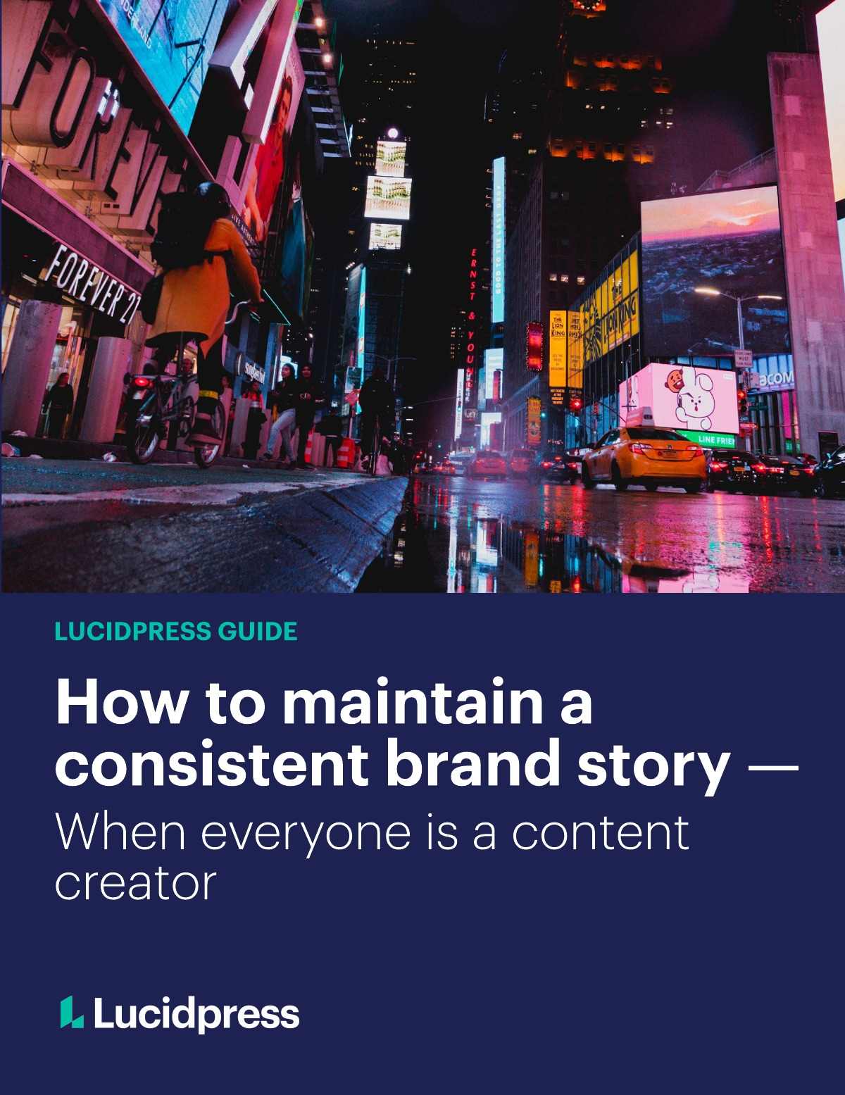 How to maintain a consistent brand story when everyone is a content creator ebook