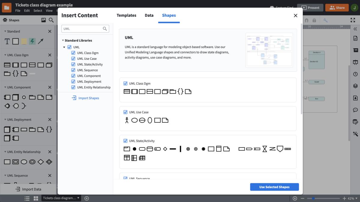 UML Diagram Tool | Lucidchart