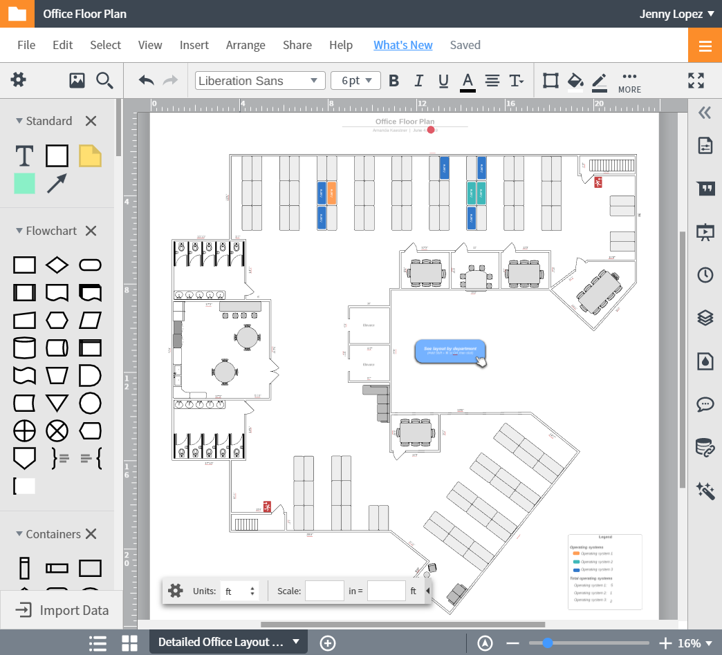 lucidchart online floor plan maker