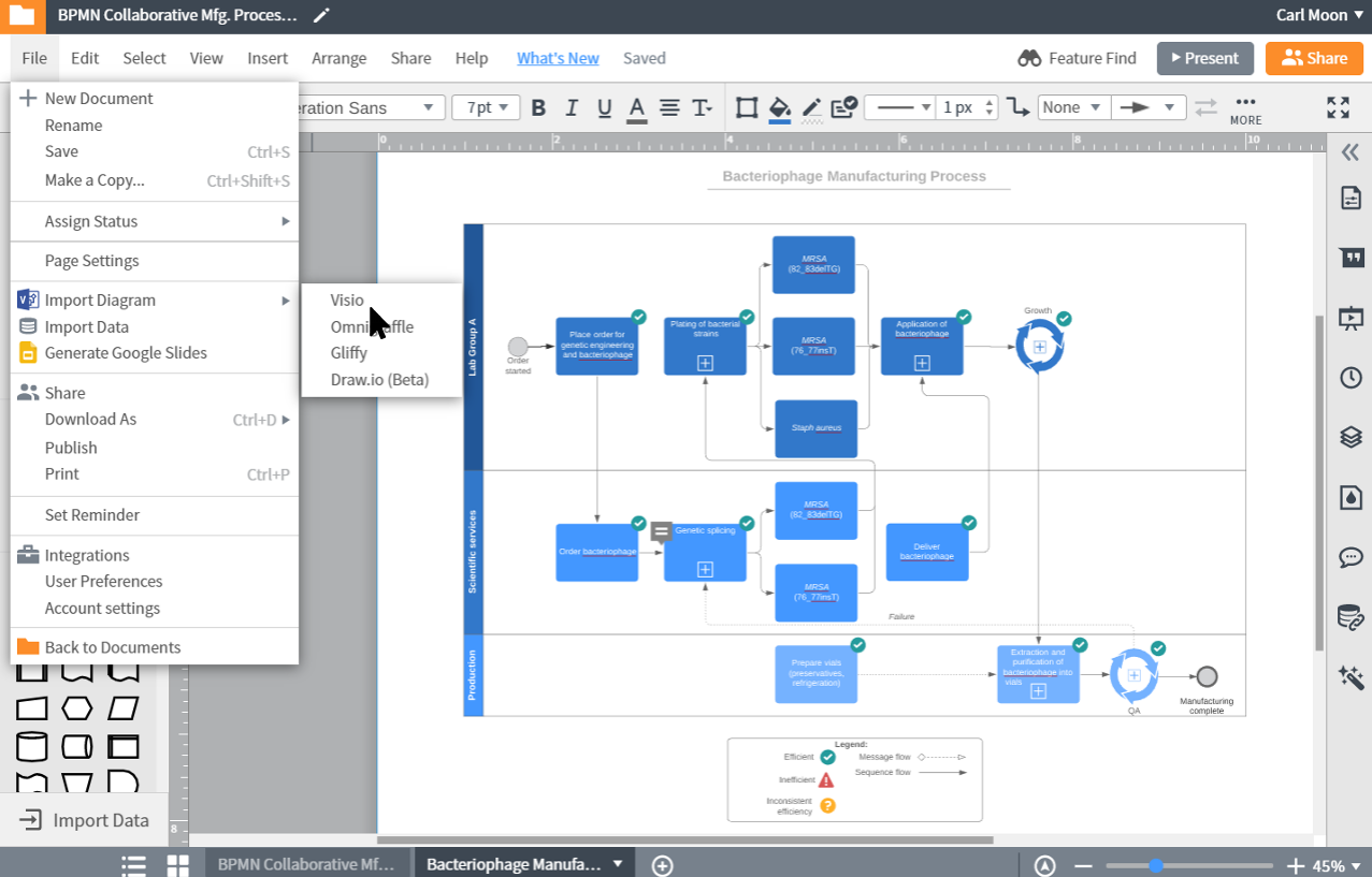 Visio-Viewer