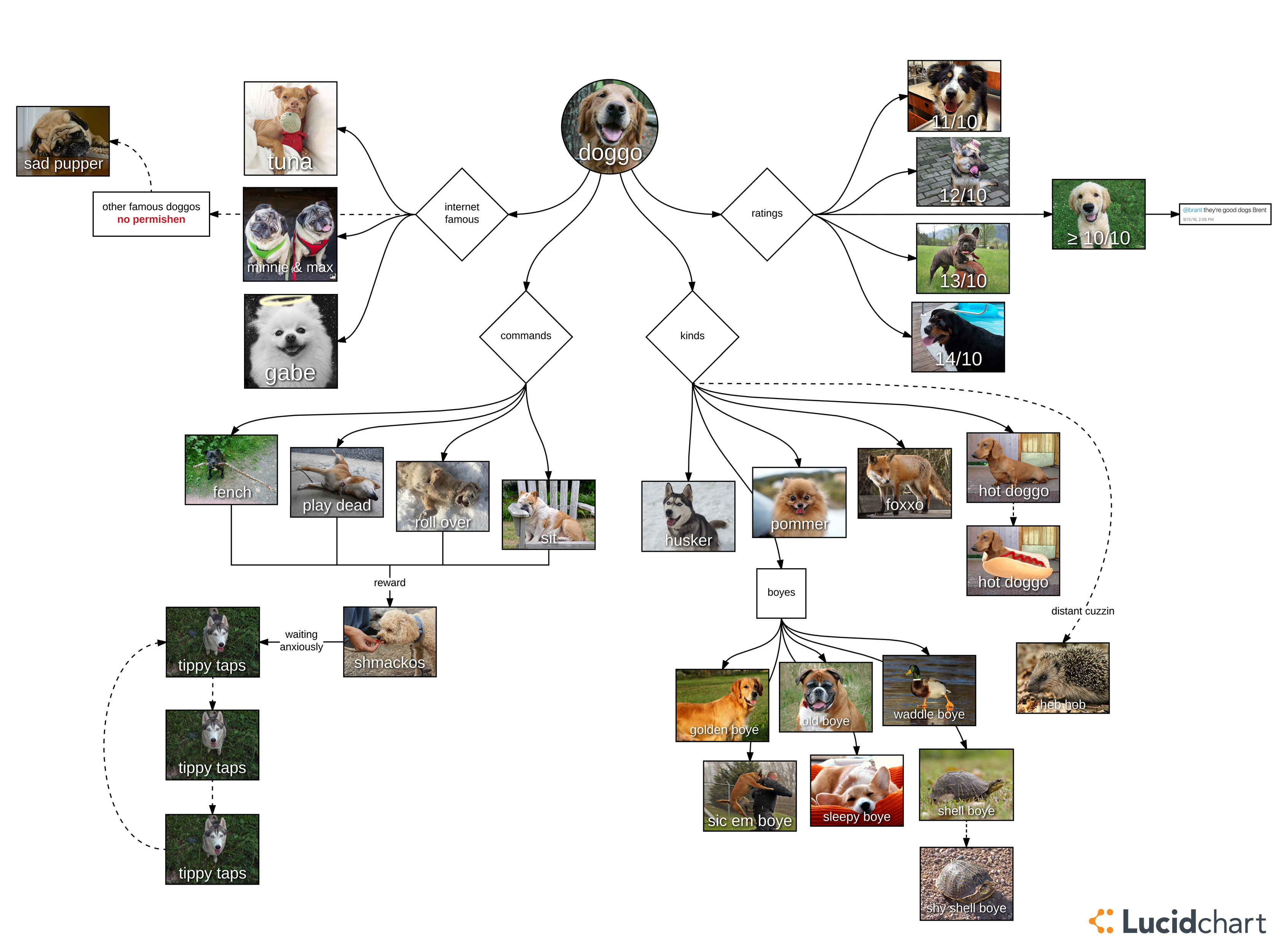 Doggo meme diagram part 3 video diagram lucidchart blog doggo diagram ccuart Images