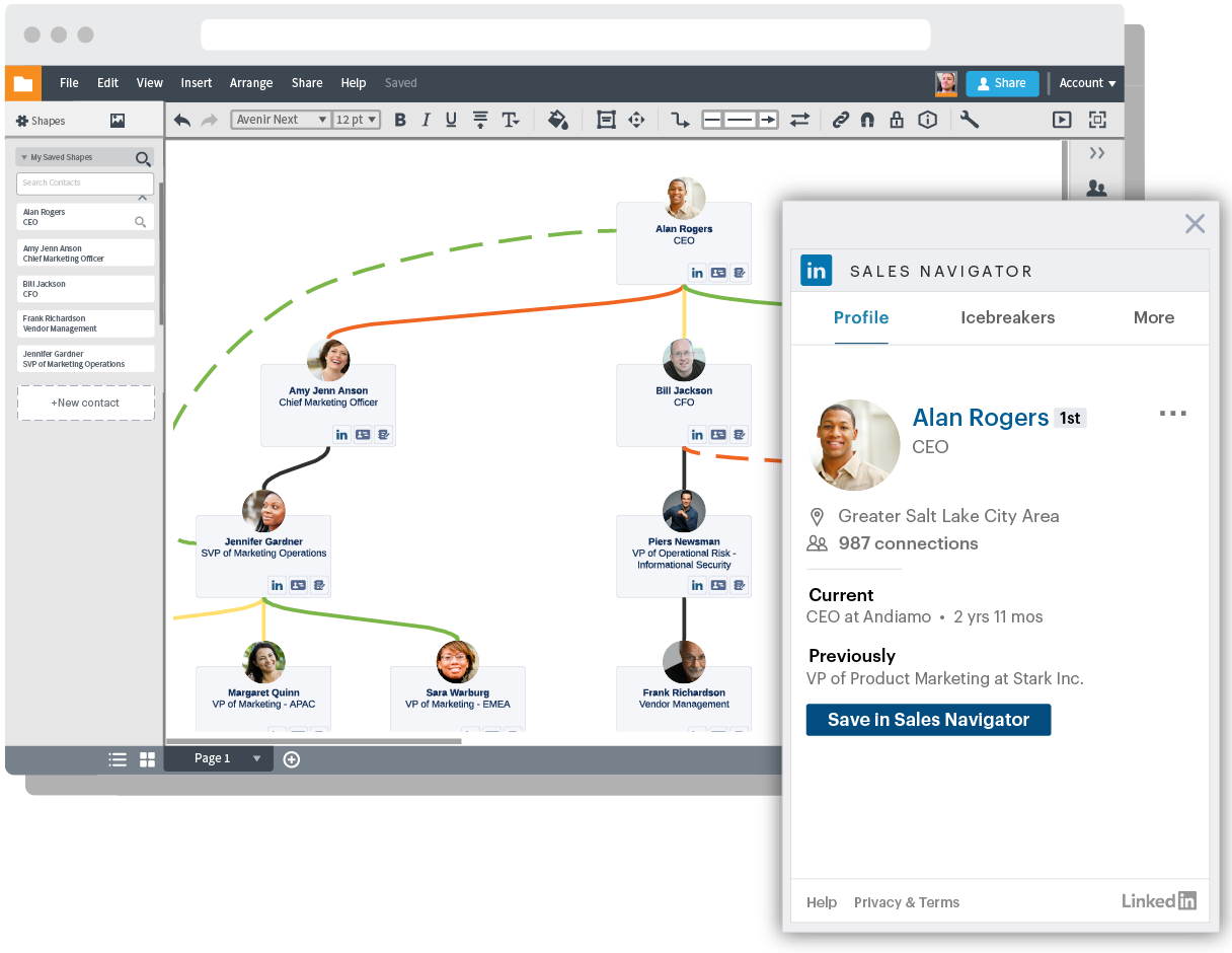 LinkedIn Sales Navigator Integration
