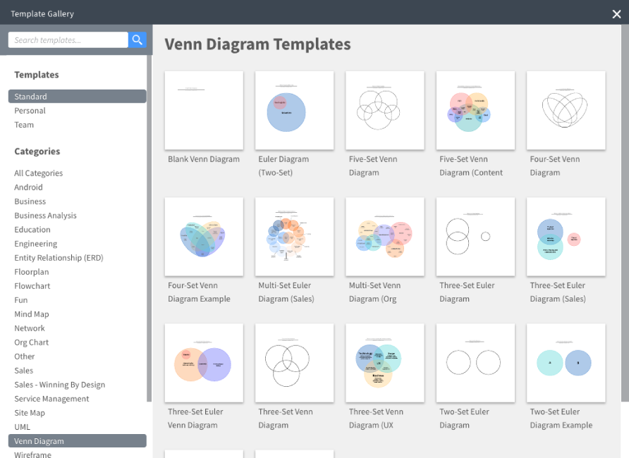 Venn Diagram Maker.Online Venn Diagram Maker Lucidchart