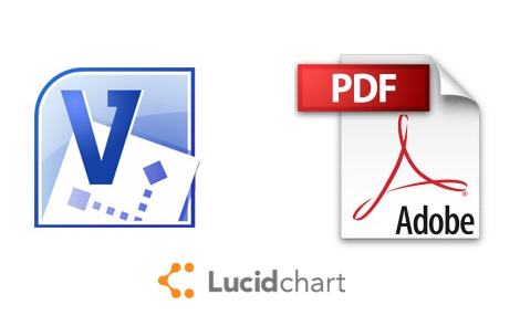 use lucidchart to convert visio files into pdf formatted files - Convert Visio File To Pdf Online
