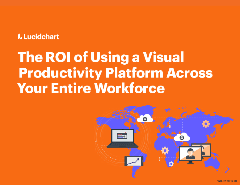 cover of e-book The ROI of Using a Visual Productivity Platform