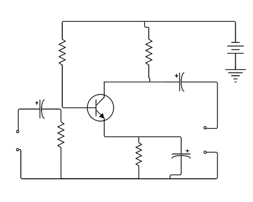circuit diagram maker lucidchart rh lucidchart com logic circuit diagram examples circuit diagram example problem