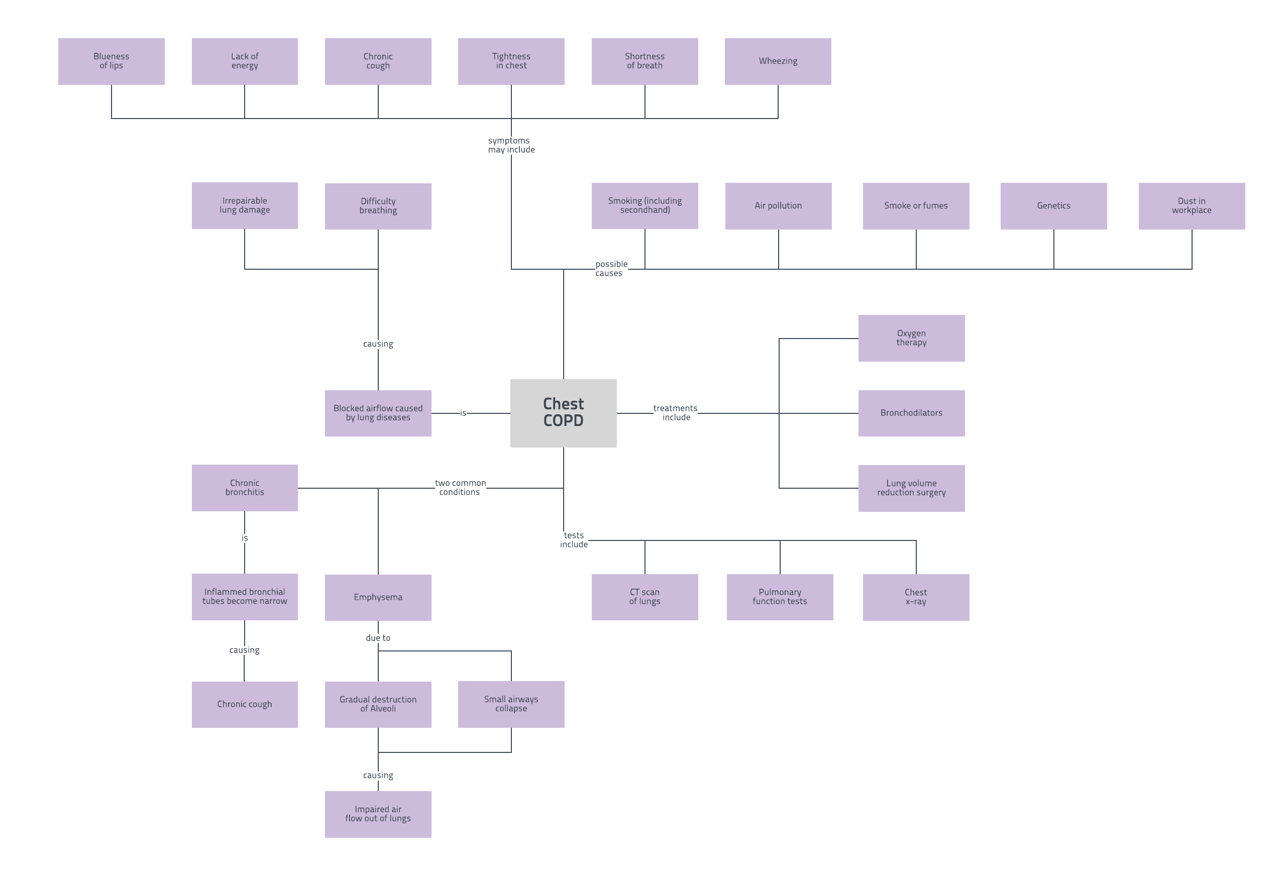 copd concept map - Picture Of A Concept Map