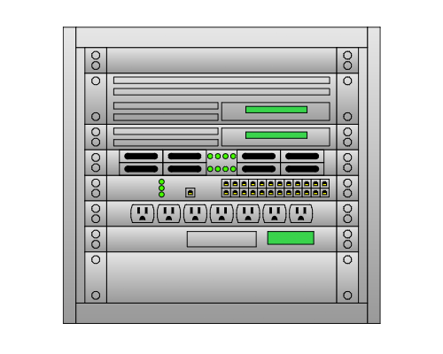 free rack diagram software  amp  rack diagram examples   lucidchartserver rack diagram tool