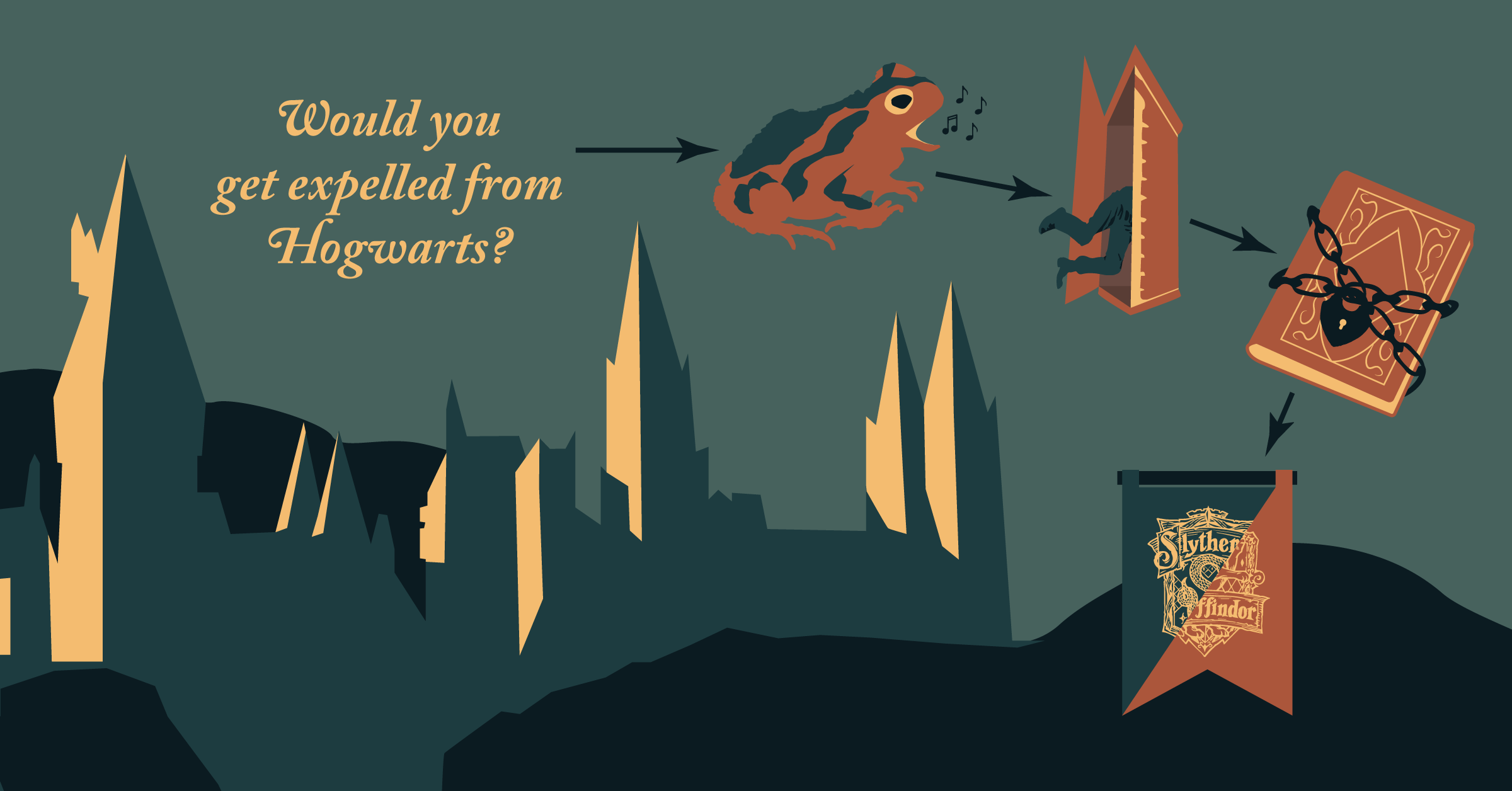 Would You Get Expelled From Hogwarts? [Flowchart]