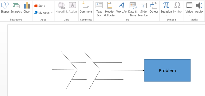 Fishbone diagram template in powerpoint lucidchart fishbone diagram template in powerpoint ccuart Choice Image