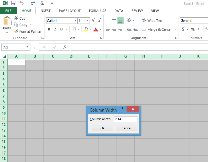 make a flowchart in excel
