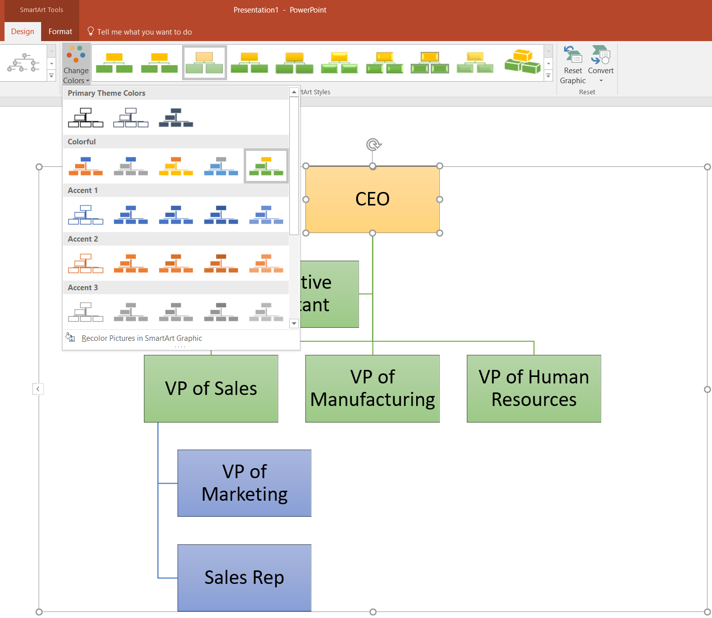 how to make an org chart in powerpoint lucidchart