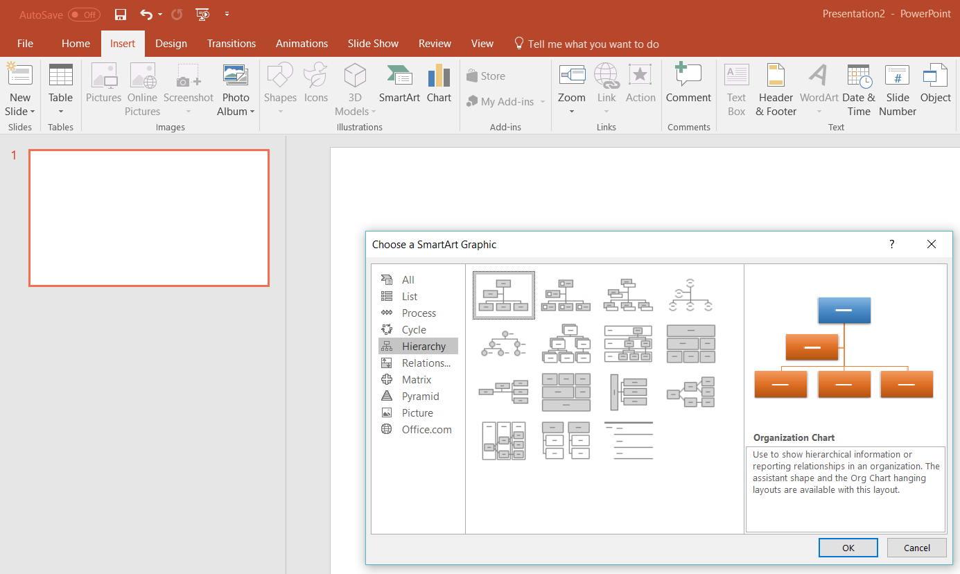 How to Make an Org Chart in PowerPoint