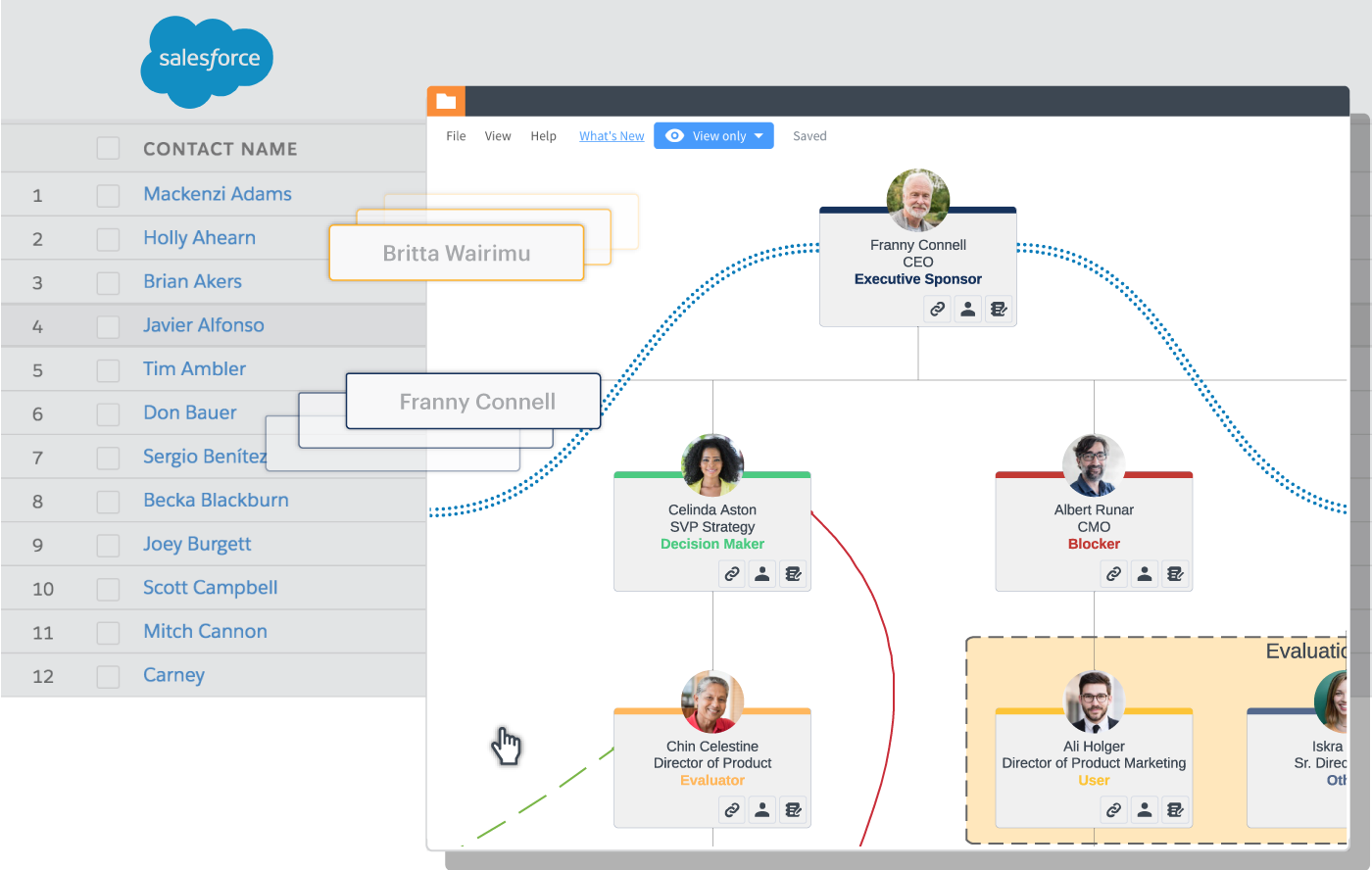 lucidchart salesforce integration