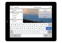 iPad mockup example