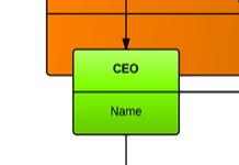Modèle d'organigramme 1