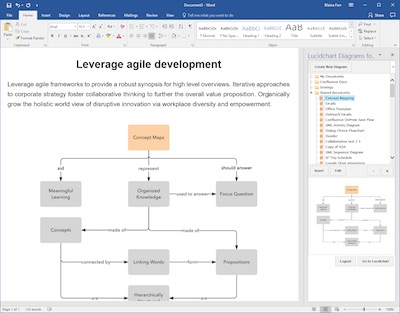Lucidchart in Word