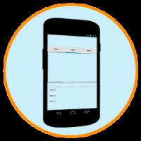 Software für Android macht Mockups