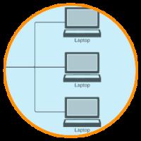 fazer um diagrama de rede