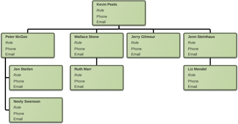 Organizational Chart Template Word – Organizational Flow Chart Template Word