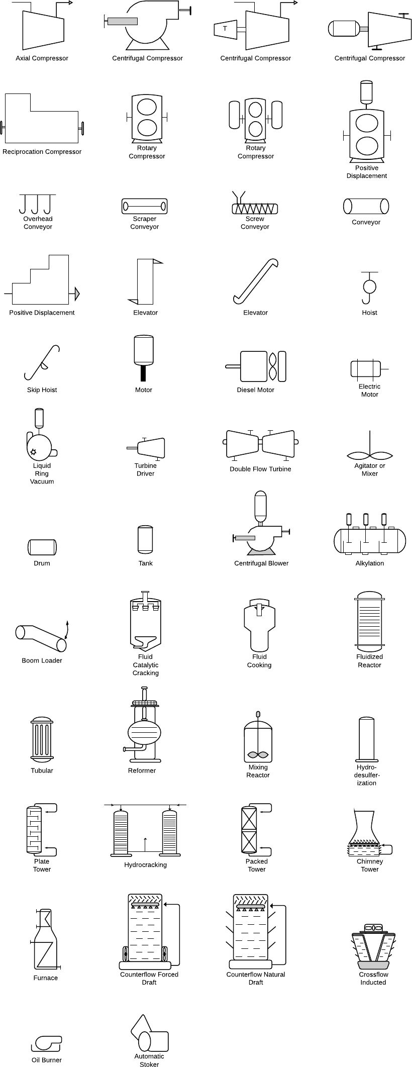 piping schematic valve symbols