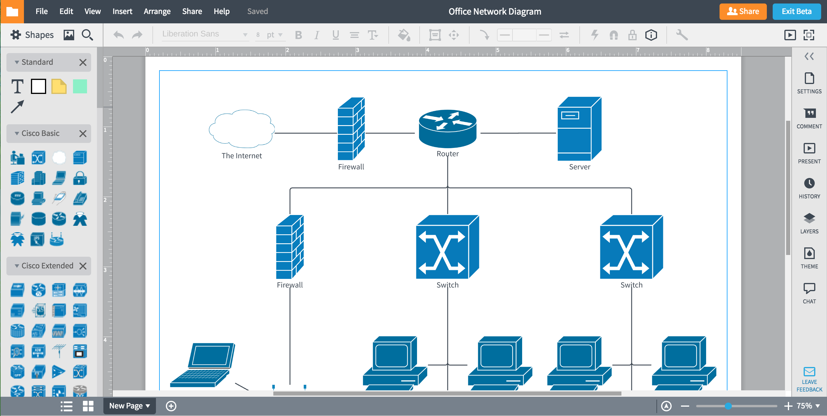 lucidchart - Free Visio Type Software