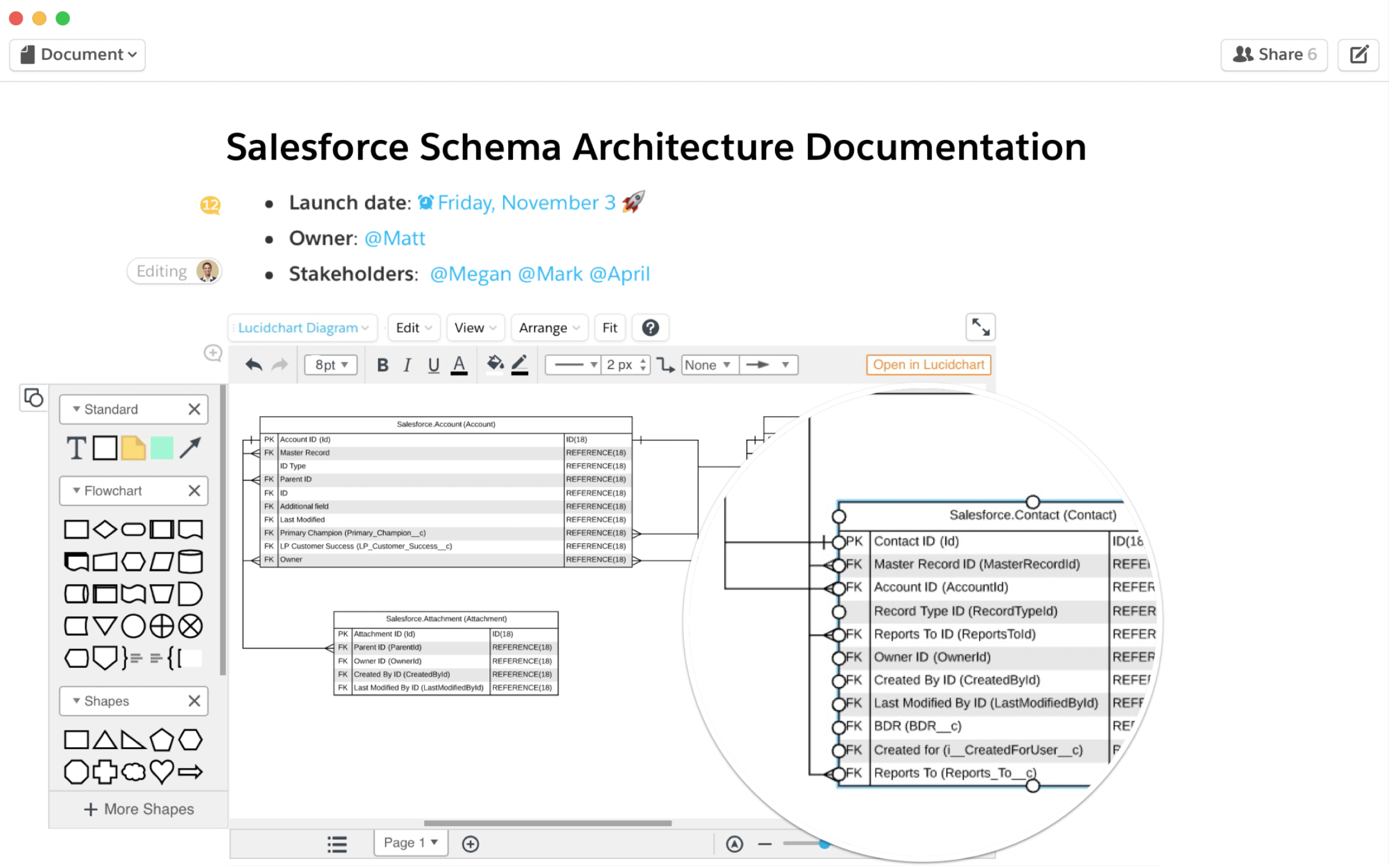 Import Salesforce schemas automatically