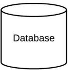 Tutorial de diagramas de implementación - Figura de base de datos