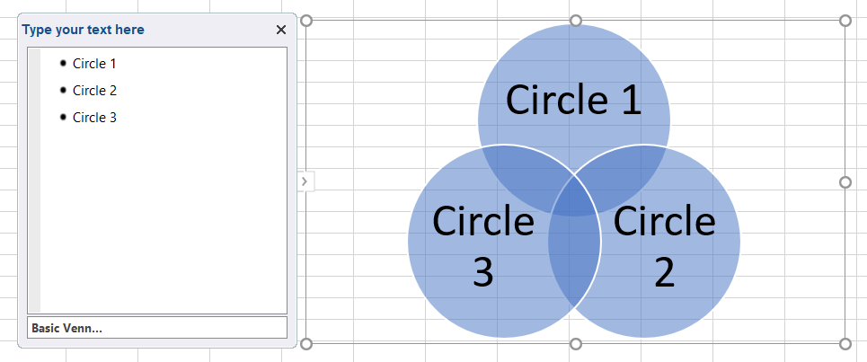 How To Make A Venn Diagram In Excel Lucidchart