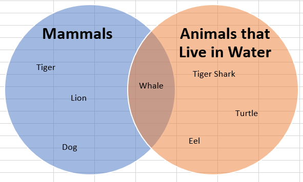 Completed Venn Diagram
