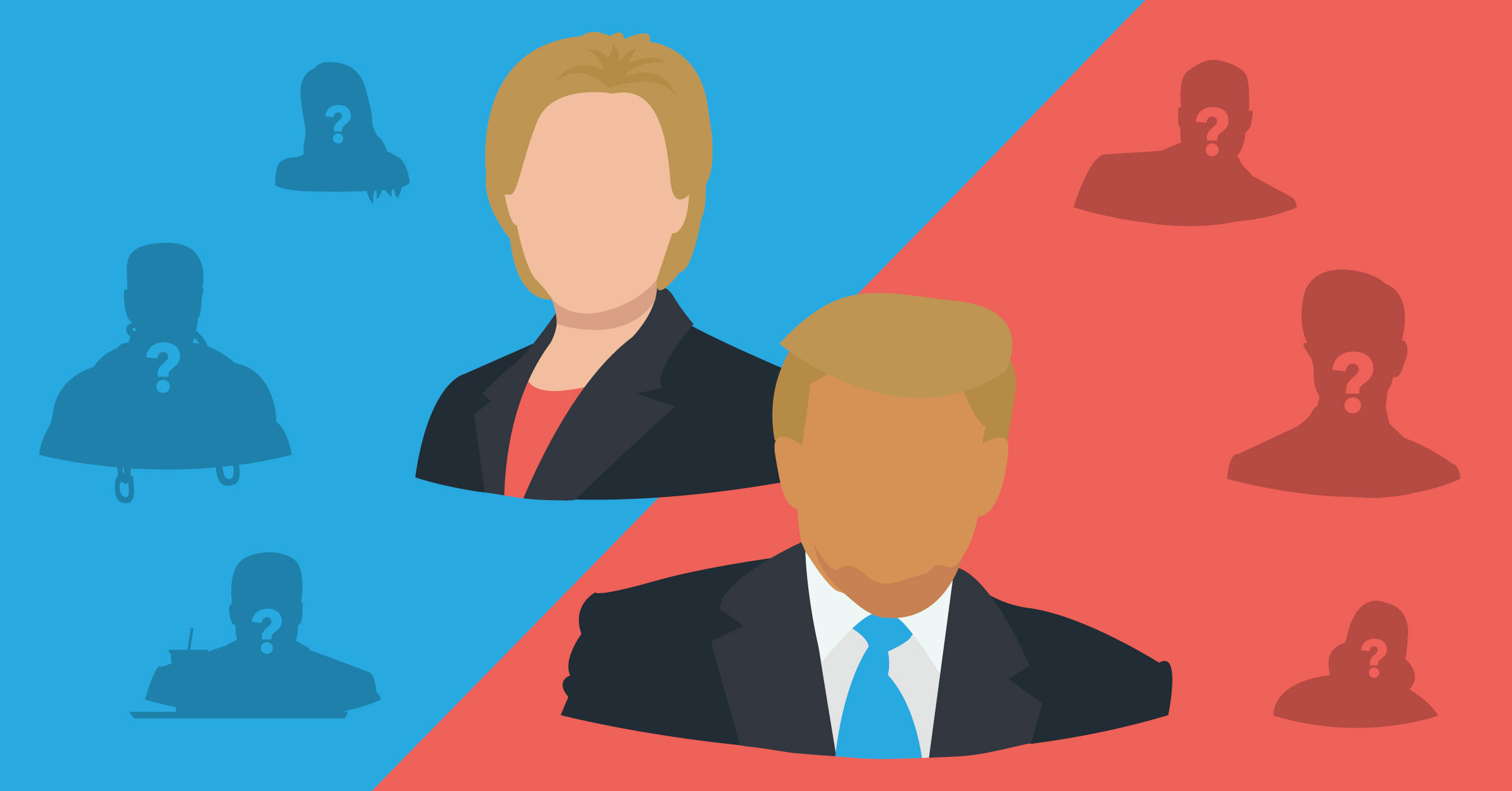 Who Should Hillary And Donald Pick For Their VPs?