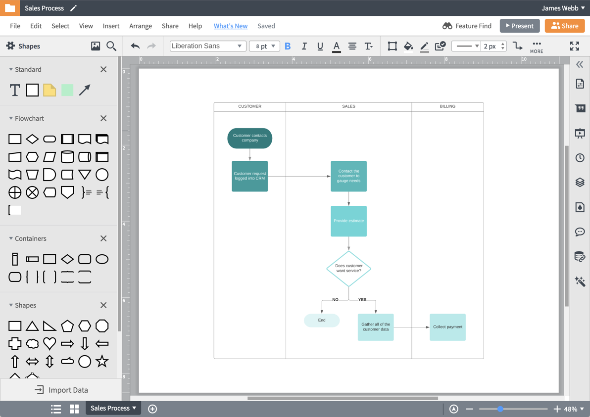 Diagram Maker Lucidchart