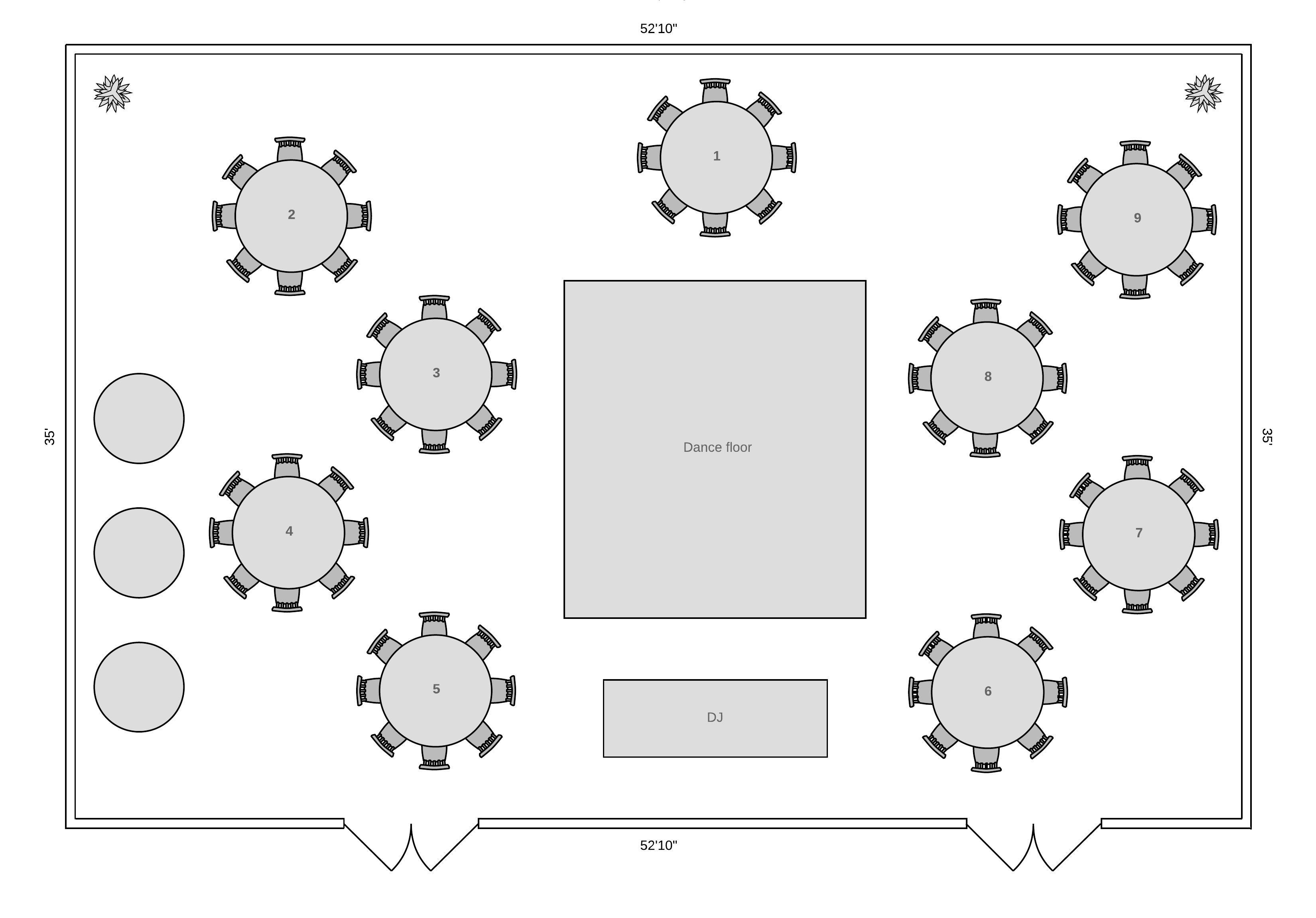 Reception Floor Plan