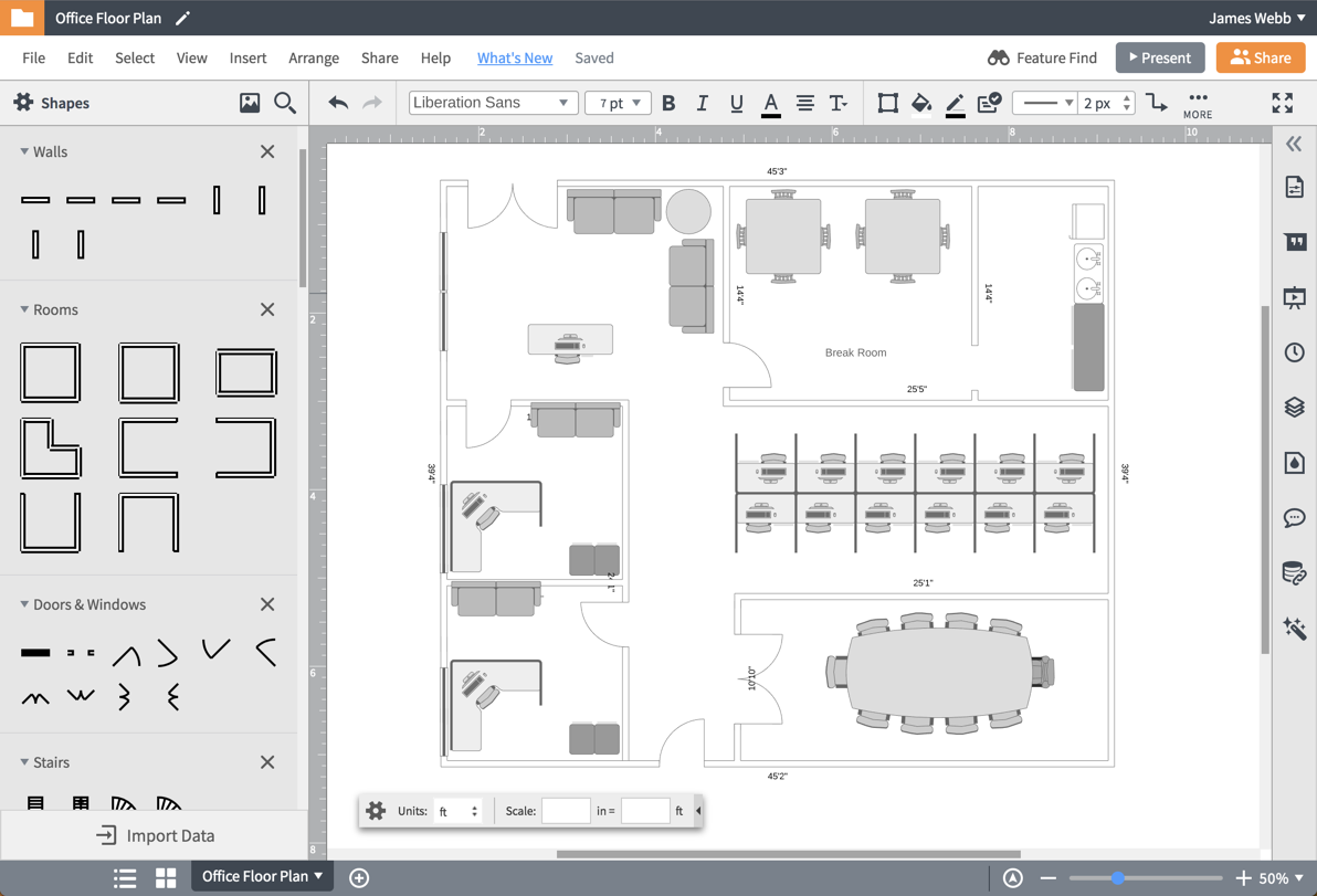 Floor plan software for all projects and users