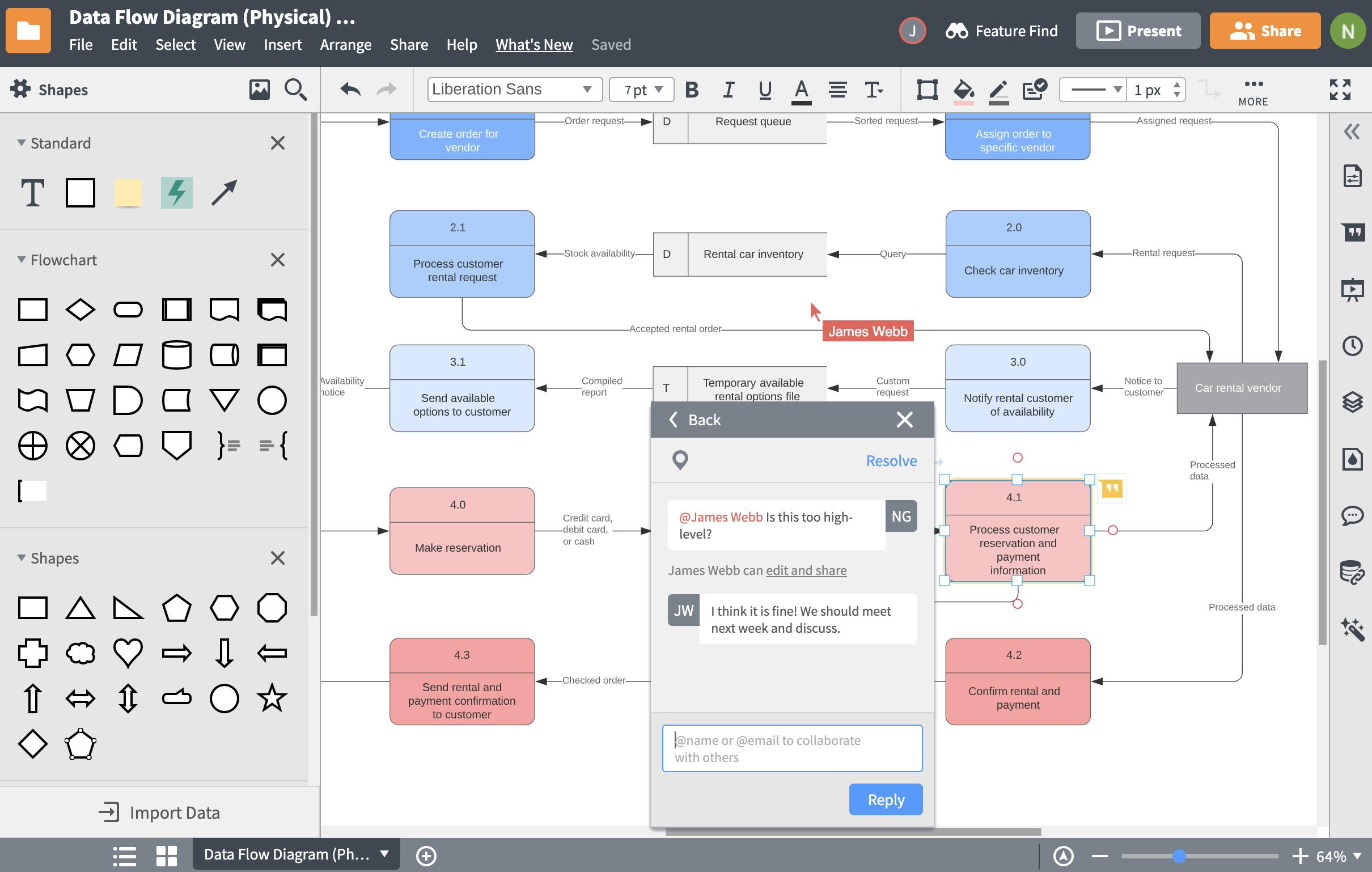 инструмент для схематизации баз данных