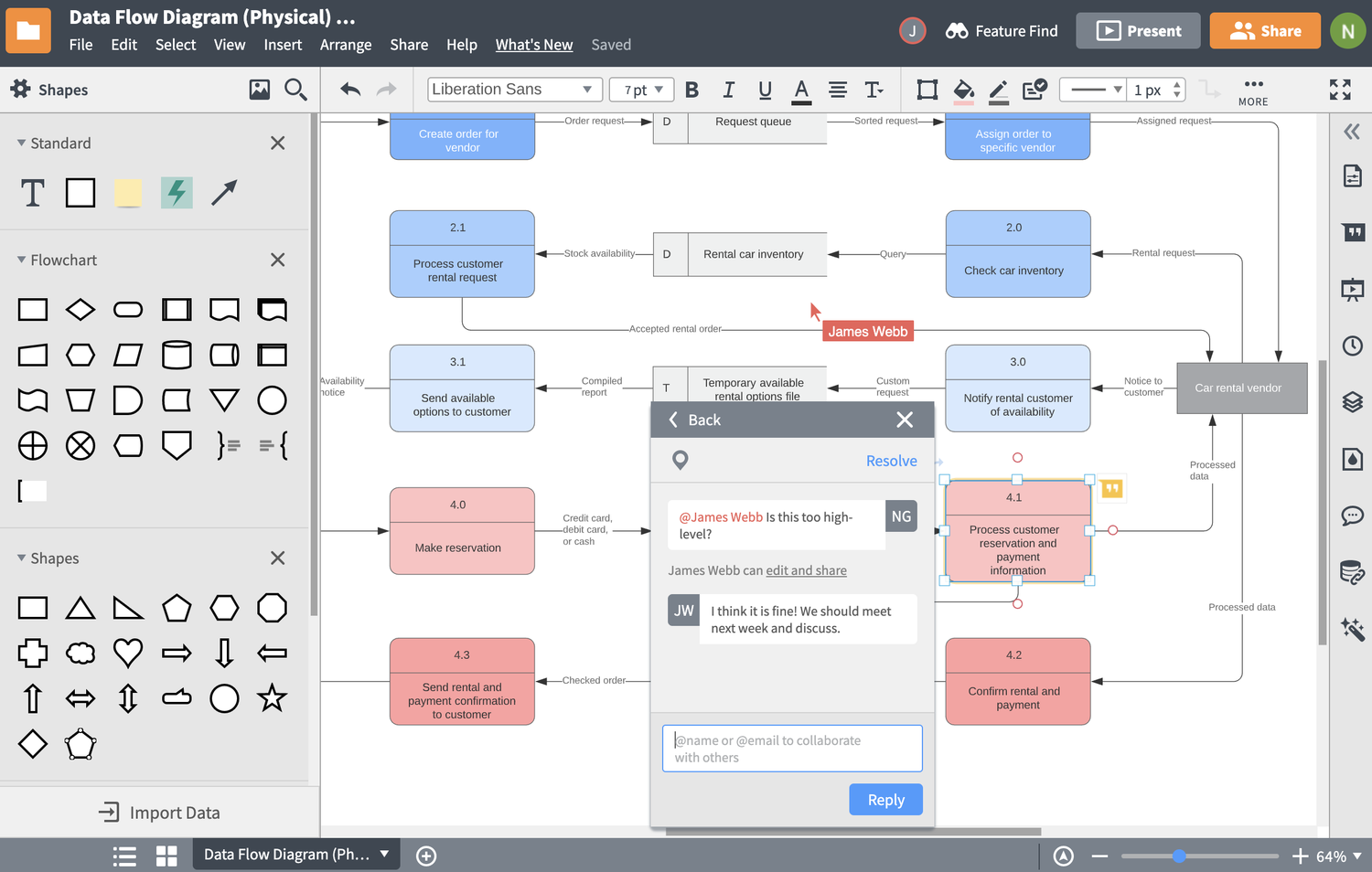 context diagram maker