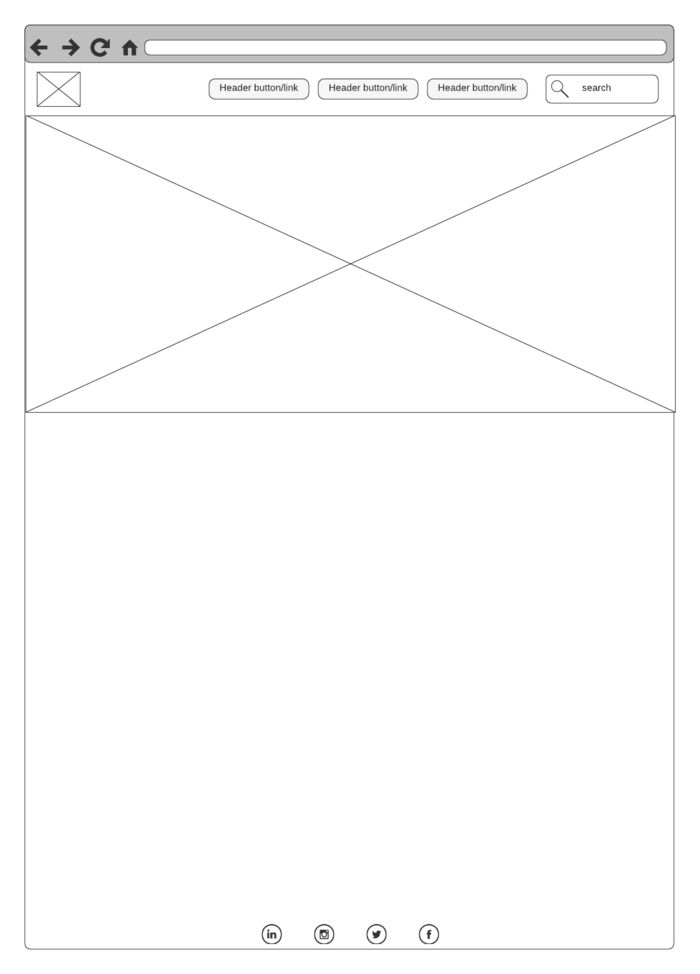 basic wireframe template