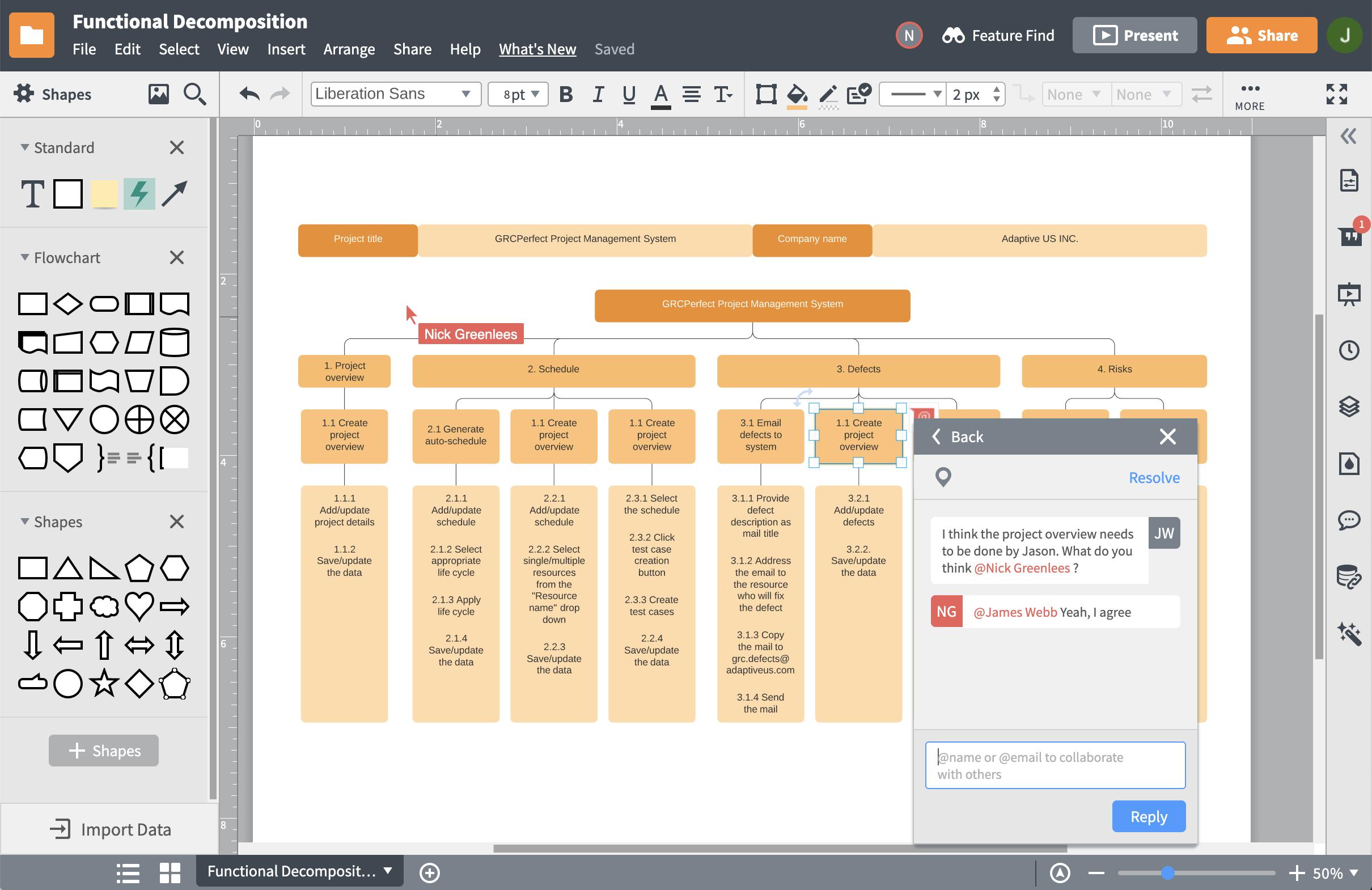 Projektstrukturplan-Programm
